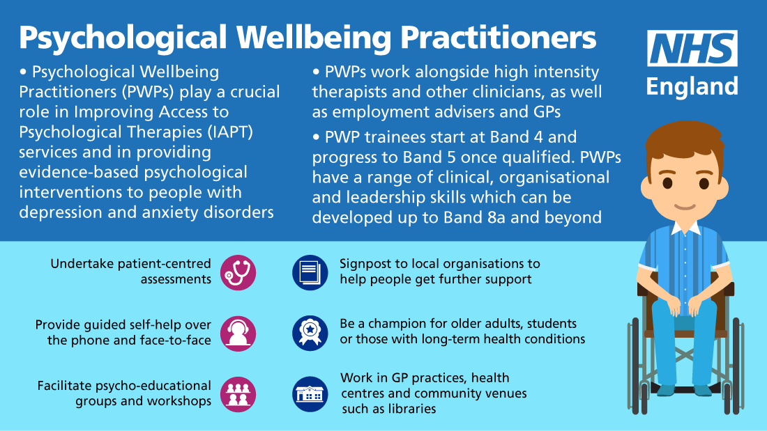 Psychological Wellbeing Practitioners 3